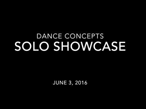 Dance Concepts Solo Showcase 2016