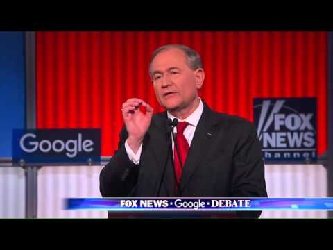 GOP Debate: Jim Gilmore objects to media