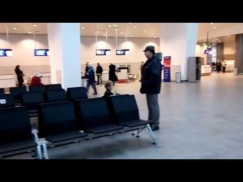 Новый аэропорт Пермь. Как там внутри? Новый терминал в работе. Цены на парковку