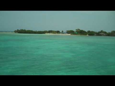 Turneffe Atoll, Belize - Boat ride Inside the reef returning from dive