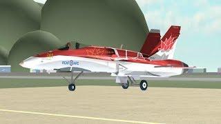 ROBLOX CF-18 Hochgeschwindigkeitspass