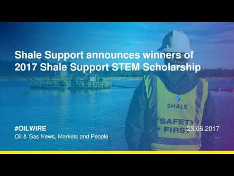 Shale Support announces winners of  2017 Shale Support STEM Scholarship
