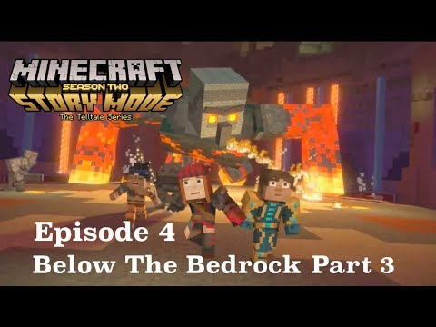 Minecraft Story Mode Season 2 Episode 4 Part 3: Romeo's Challenge Room, The Cabin, Back Home