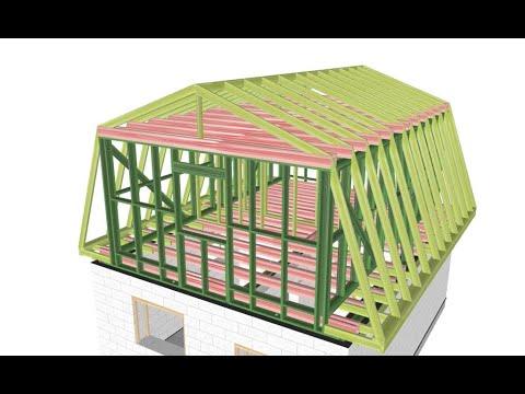 Как построить ломаную крышу своими руками пошаговая инструкция