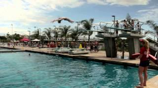 Aztec Aquaplex Pool Party