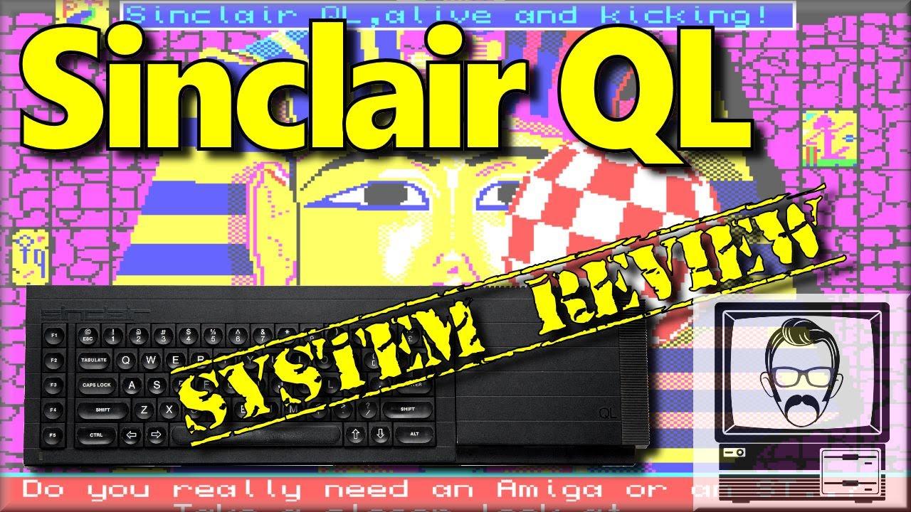 Download Sinclair QL System Review & Story   Nostalgia Nerd
