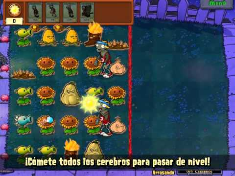 Copia De Plants Vs Zombies Zombies A Comer Cerebo