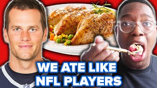 Download We Ate Like NFL Players For A Day Mp3 and Videos