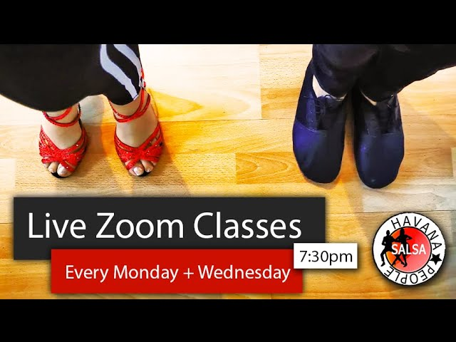 Havana People Free Live Zoom Classes in Cuban Salsa & Bachata - Every Week during Covid-19!