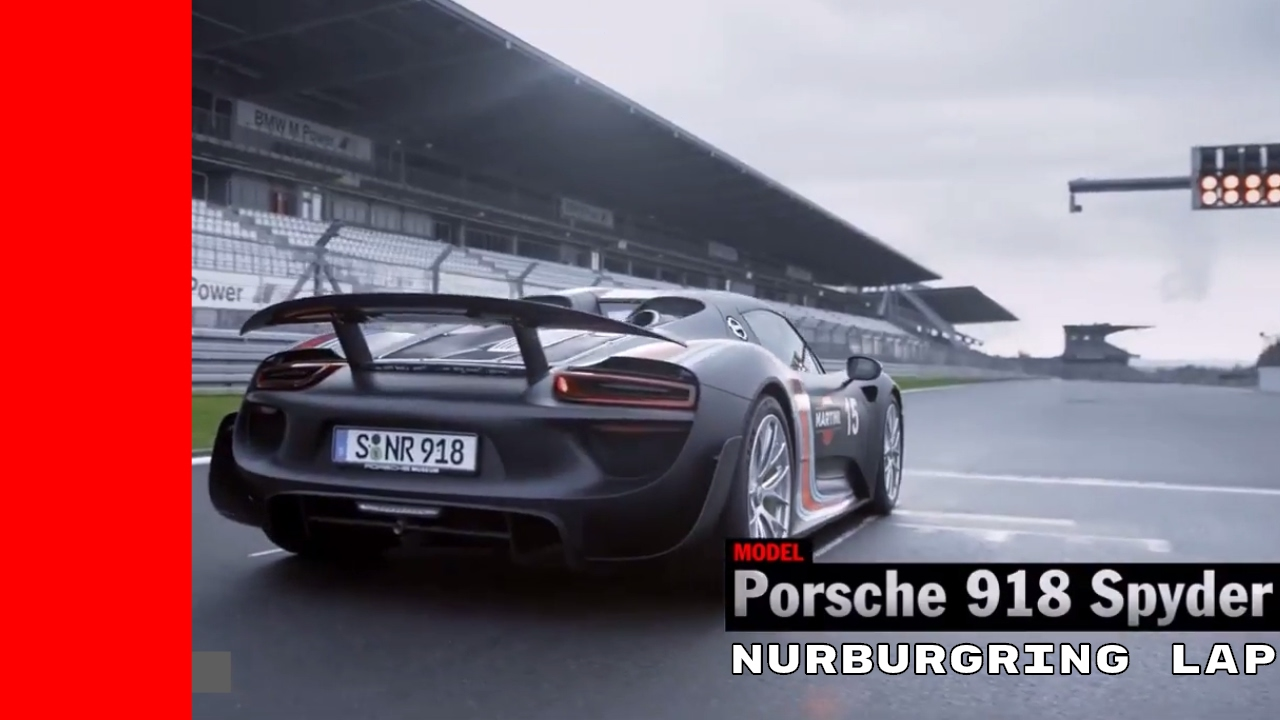 porsche 918 spyder nurburgring lap youtube. Black Bedroom Furniture Sets. Home Design Ideas