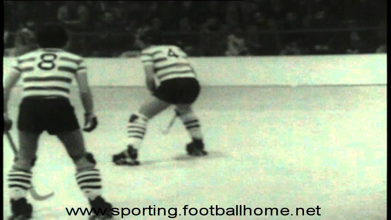 Hoquei Patins :: Sporting x Oeiras em 1976/1977 - Livramento