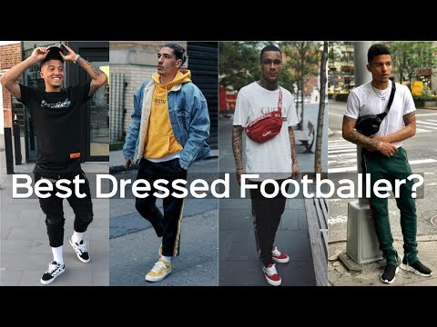 Who Are The Best Dressed Footballers? Mens Streetwear Hypebeast High End Fashion 2019