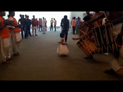 Kerala Traditial Drums Beat In Hyderabad  Chendamelam  Ba Neetha Cute Entry  Part3