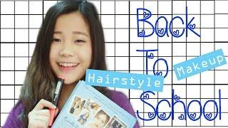 Trang điểm và làm tóc đi học | BTS Makeup and Hairstyles