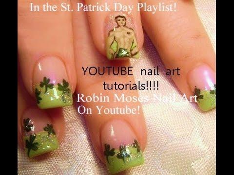 Nail art Tutorial | Saint Paddy's Day Nails | St. Patricks ...