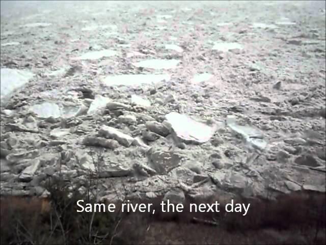Liard River Breakup.wmv