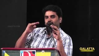 Producer Escape Artists Madan at Kaaki Sattai Press Meet | Galatta Tamil