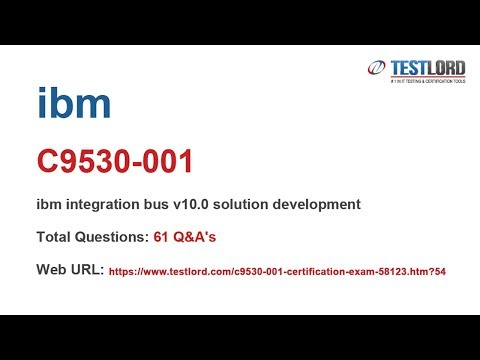 IBM C9530-001 Certification Questions & Answers In PDF