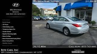Used 2012 Hyundai Sonata | Rite Cars, Inc, Lindenhurst, NY