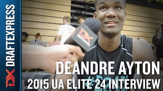 DeAndre Ayton 2015 Under Armour Elite 24 Interview
