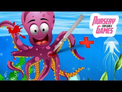 ОКЕАН ДОКТОР|Мультик Подводная Эра|Спасаем Морских животных|Ocean Doctor|Nursery Games For Girls