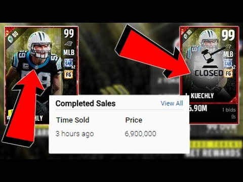 SOMEONE ALREADY COMPLETED THE LOYALTY SET!!! LUKE KUECHLY SOLD FOR 7 MILLION!!!!