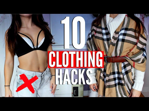 10 CLOTHING Hacks EVERY Girl MUST KNOW !!!. http://bit.ly/2GPkyb3