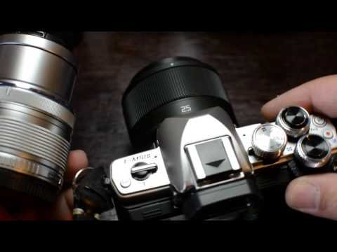 My new camera: The Olympus OM-D E- M10 Mark II