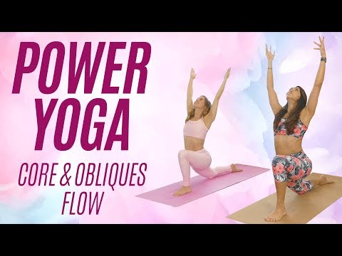 Tone Your Tummy, Obliques & Core-- Bye Bye Belly Fat!! Power Yoga Workout Challenge, 15 Mins