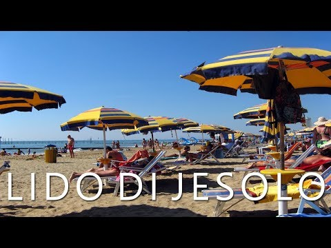 Lido di Jesolo, Italy - Modern beach resort on the Adriatic Sea