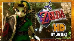 THE LEGEND OF ZELDA OCARINA OF TIME HD DEMO in 4K in UNREAL ENGINE 4 by CryZENx