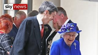 Queen in adoration of Scotland on 20th anniversary