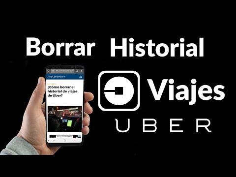 Cómo Borrar el Historial de Viajes en Uber