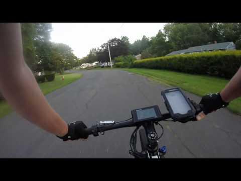 30mph E Bike ride around the block