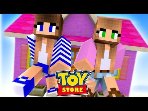 AND THEY LIVED HAPPILY EVER AFTER!! w/Little Carly and Little Kelly (Minecraft ToyStore)