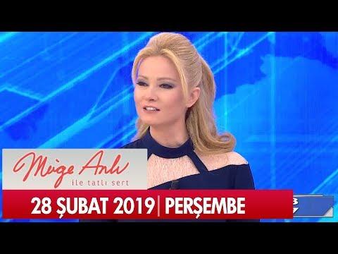 Müge Anlı ile Tatlı Sert 28 Şubat 2019 Perşembe - Tek Parça