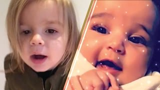Rob Kardashian Films Baby Dream and Reign Disick's SUPER CUTE Play Date!