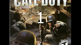 Call of Duty 1 Прохождение Часть 1 Тренировка и десант