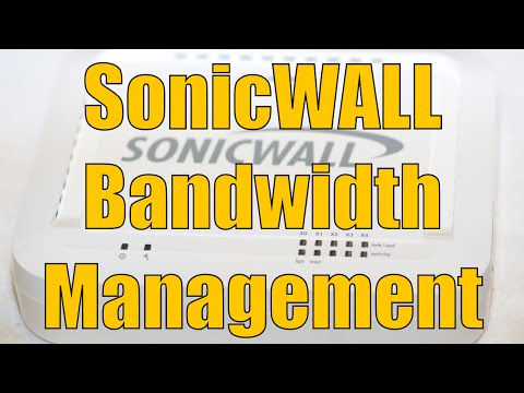 Dell SonicWALL Bandwidth Management