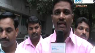 Karnataka State Social Welfare Department Hostel Wardens Association   Protest