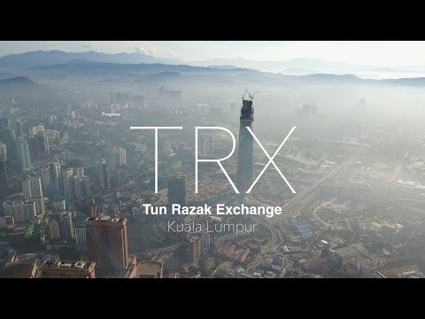 TRX Signature Tower at Tun Razak Exchange - Progress as 25.11.2017