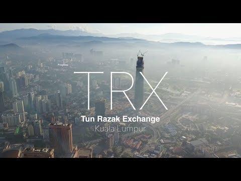 TRX Signature Tower at Tun Razak Exchange - Progress as 25.11.2017