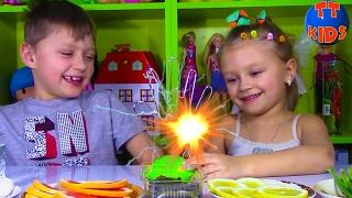 ЧЕЛЛЕНДЖ Магическая Рука Превращения Ярославы и Игорька Видео для детей