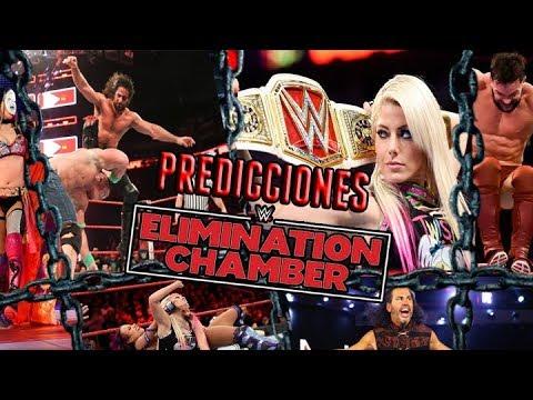 Predicciones WWE Elimination Chambers 2018 Loquendo (SL3000)
