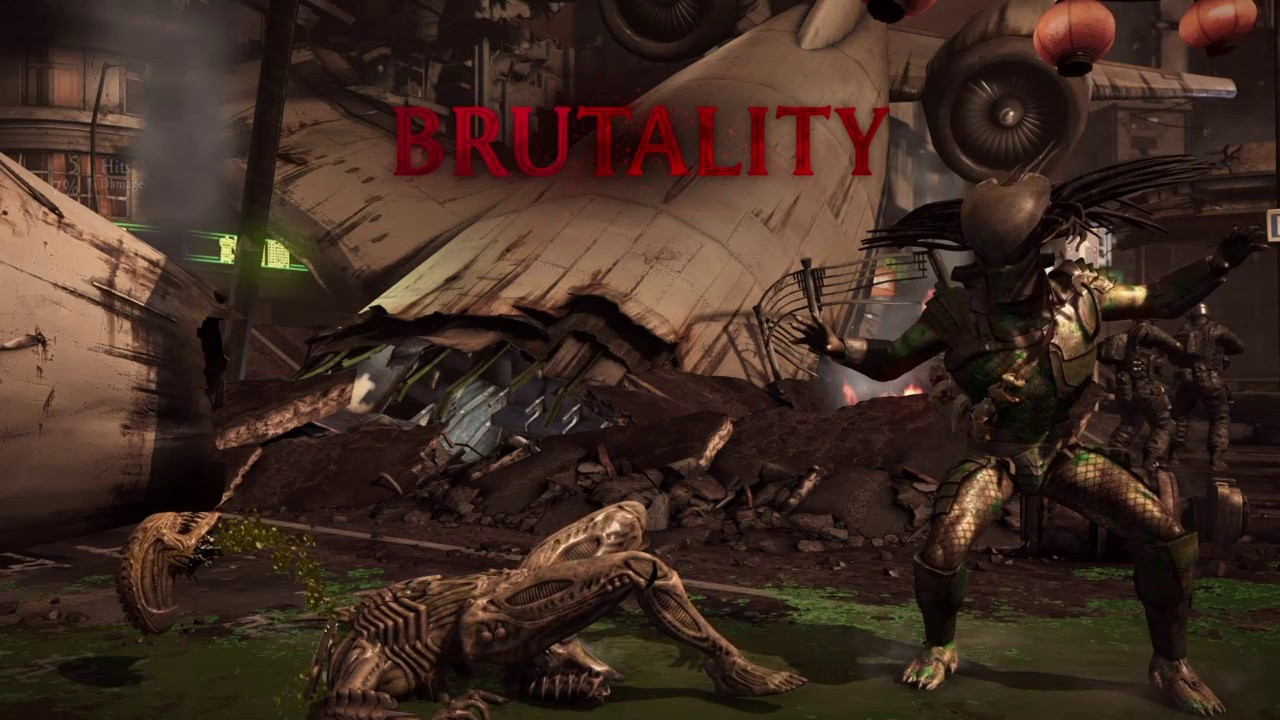 Mortal Kombat X ( Horror Movie Characters Brutalities )
