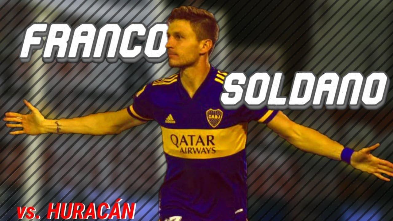 Franco Soldano vs. Huracán ● Boca Juniors ● Performance Individual ● 2021