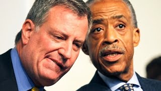 Mayor de Blasio Caught Between Protesters & NYPD, Stephen Collins Admission