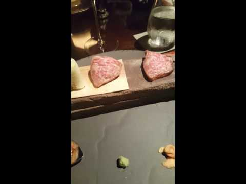 A5+ Grade Wagyu at Vintage Cave Honolulu