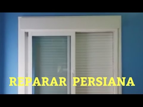 Superieur Como Reparar Una Persiana. Lama O Tira Rota