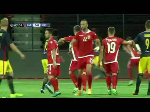 UEFA Champions League - Partizani Tirana (ALB) vs Salzburg (AUT) 26/07/2016 Full Match